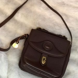 Vintage Chocolate Dooney & Bourke Crossbody